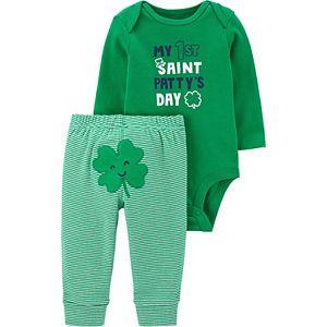 Baby Carter's St. Patrick's Day Bodysuit & Pants Set