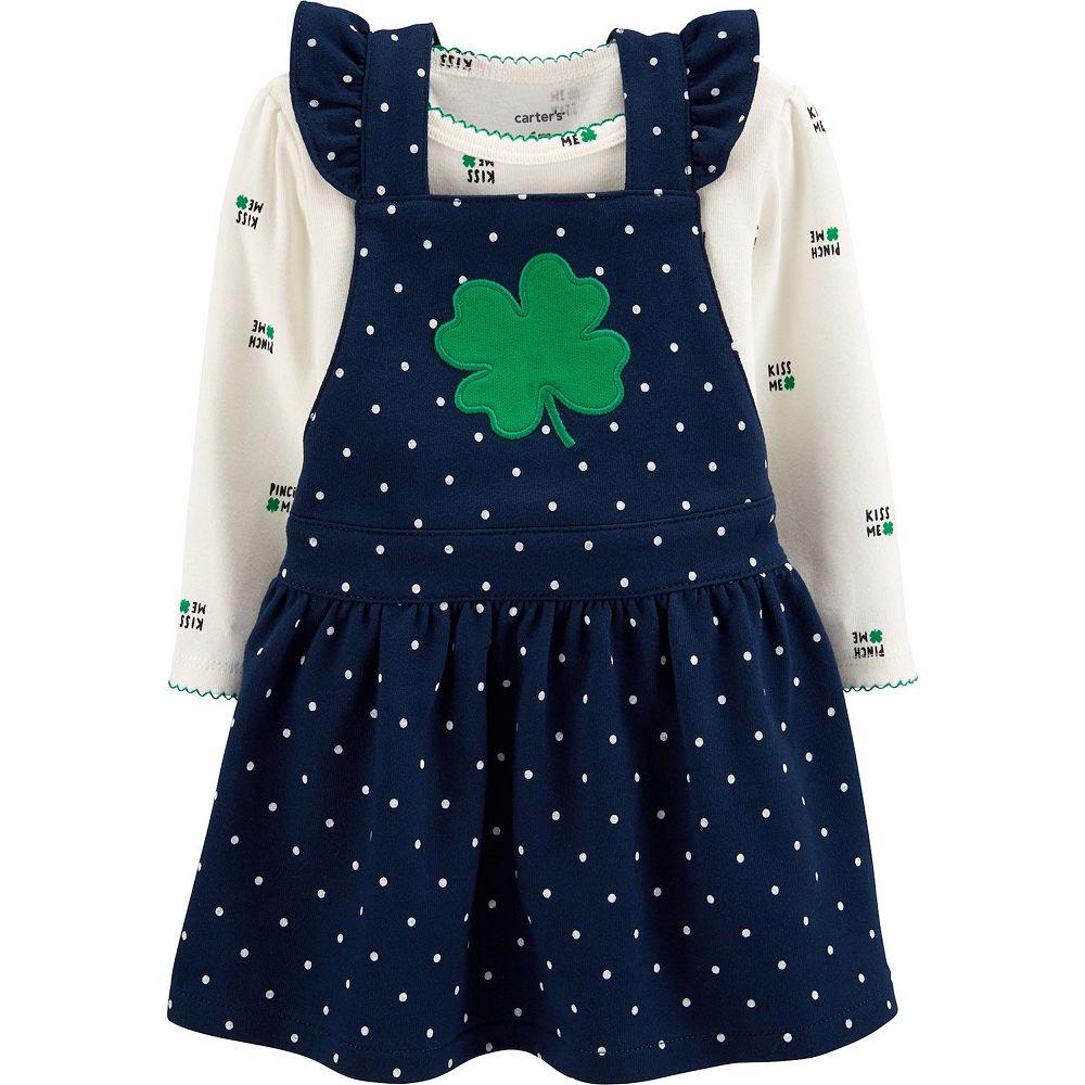 Baby Girl Carter's St. Patricks Day Bodysuit & Skirtall Set
