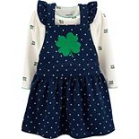 Baby Girl Carter's St. Patricks Day Bodysuit & Skirtall Set