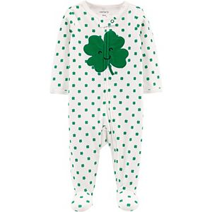 Baby Carter's St. Patricks Day 2-Way Zip Sleep & Play
