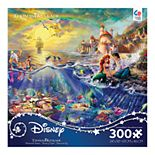 Disney Little Mermaid 300-pc. Puzzle by Thomas Kinkade