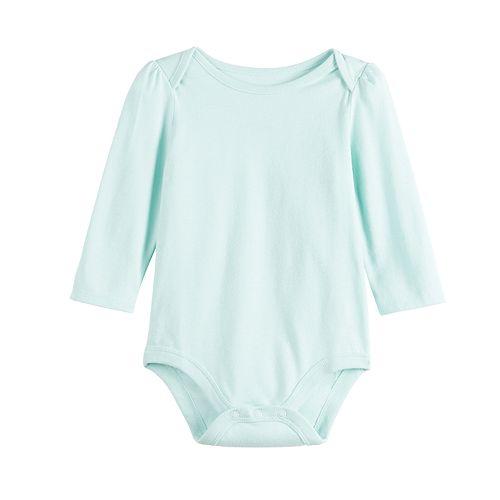 Baby Girl Jumping Beans® Envelope-Neck Bodysuit