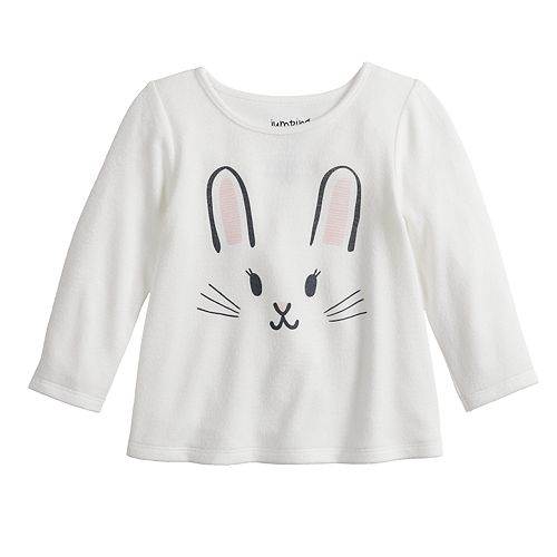 Baby Girl Jumping Beans® Long Sleeve Knit Top