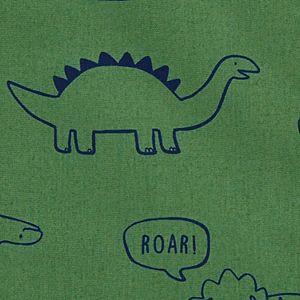 Baby Boy Carter's Dinosaur Button-Front Romper