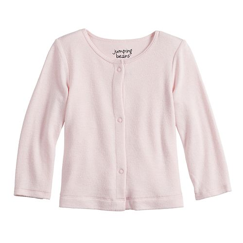 Baby Girl Jumping Beans® Cozy Knit Cardigan