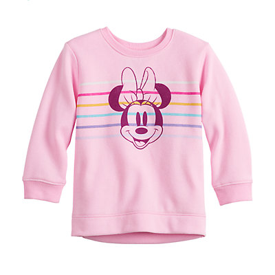 Disney's Minnie Mouse Baby Girl Fleece Sweatshirt by Jumping Beans®
