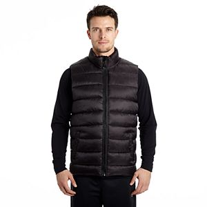 Mens puffer vest xxl cole real estate investments merger fund