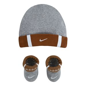 Baby Girl Nike Football 2-Piece Foldover Beanie and Booties Set