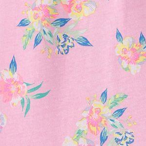Baby Girl OshKosh B'gosh® Floral Jersey Bodysuit