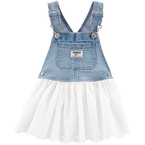 OshKosh BGosh Baby Girls Embroidered Mesh Skirt