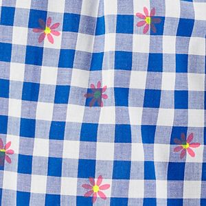 Baby Girl Carter's Floral Gingham Bubble Romper