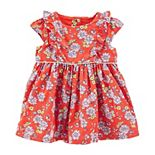 Baby Girl OshKosh B'gosh® Ruffle Floral Dress