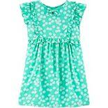 Toddler Girl Carter's Daisy Flutter Dress