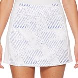 Women's Grand Slam Linear Printed Golf Skort