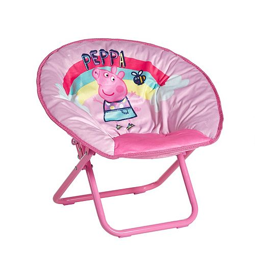 Peppa Pig Toddler Collapsible Saucer Chair