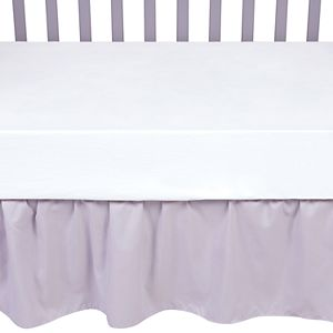Sammy and Lou Gray Crib Skirt by Trend Lab