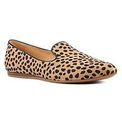 ee0faf6b1 Nine West Haydyn Women's Pointed Toe Loafers. Black Snake Leopard Plaid