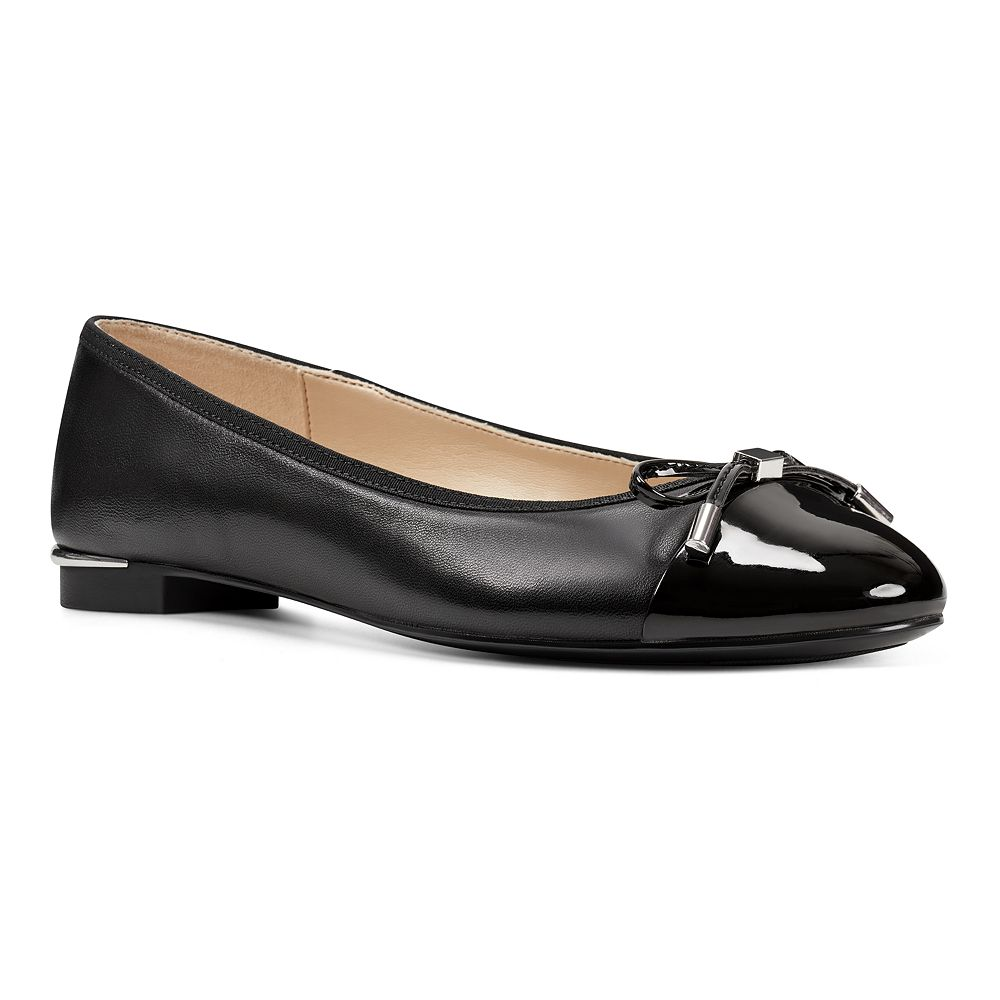 Nine West Synthia Women's Leather Ballet Flats