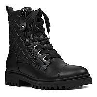 Nine West Walan Womens Combat Boots Deals