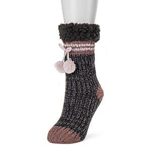 Women's MUK LUKS® 1-Pair Slouchy Cabin Socks