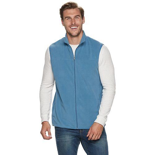 Big & Tall Croft & Barrow® Arctic Fleece Vest