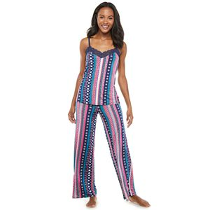 Women's Josie by Natori Sleep Camisole and Pajama Pants Set