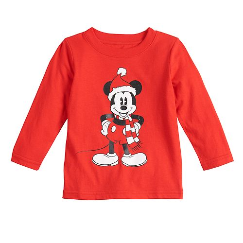 Disney's Mickey Mouse Baby Christmas Graphic Tee by Family Fun™