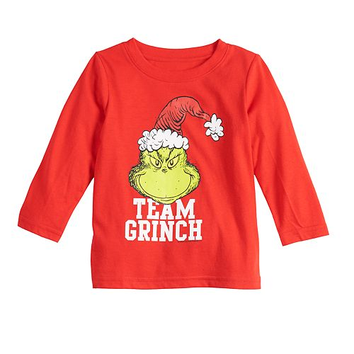 Baby Family Fun The Grinch Christmas Graphic Tee