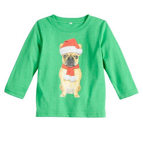 Baby Family Fun™ Pug Christmas Graphic Tee