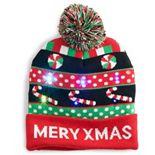 Women's Merry Xmas Light-Up Beanie