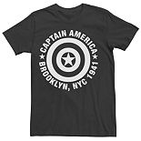 Men's Marvel Captain America Graphic Tee