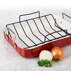 Oneida Red Aluminum Roaster with Rack