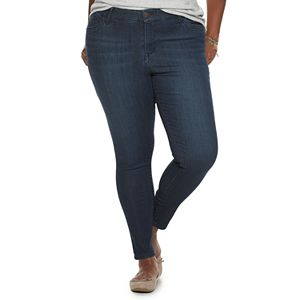 Juniors' Plus Size Unionbay Ultra Stretch Mid-Rise Skinny Jeans