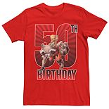 Men's Guardians of the Galaxy 50th Birthday Tee