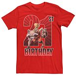 Men's Guardians of the Galaxy 21st Birthday Tee