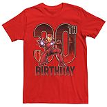 Men's Marvel Iron Man 30th Birthday Tee