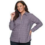 Plus Size Croft & Barrow® Core Flannel