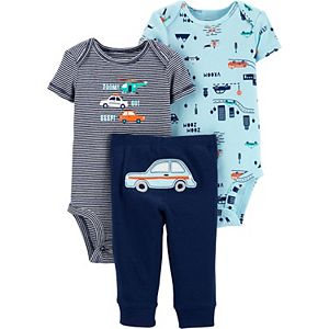 Baby Boy Carter's 3-Piece Cars Character Set