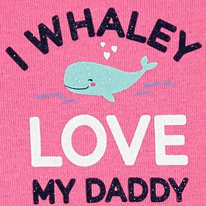 Baby Girl Carter's 3-Piece Whale Little Character Set