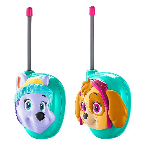 KIDdesigns Paw Patrol Walkie Talkies (Skye/Everest)