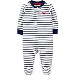 Baby Boy Carter's Striped Terry Zip Sleep & Play
