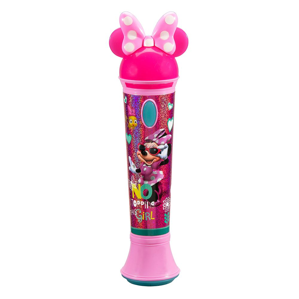 KIDdesigns Minnie Mouse Sing Along Microphone