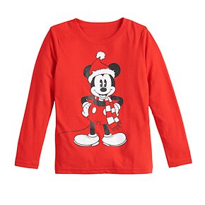 Disney's Mickey Mouse Boys 4-7 Christmas Graphic Tee by Family Fun?