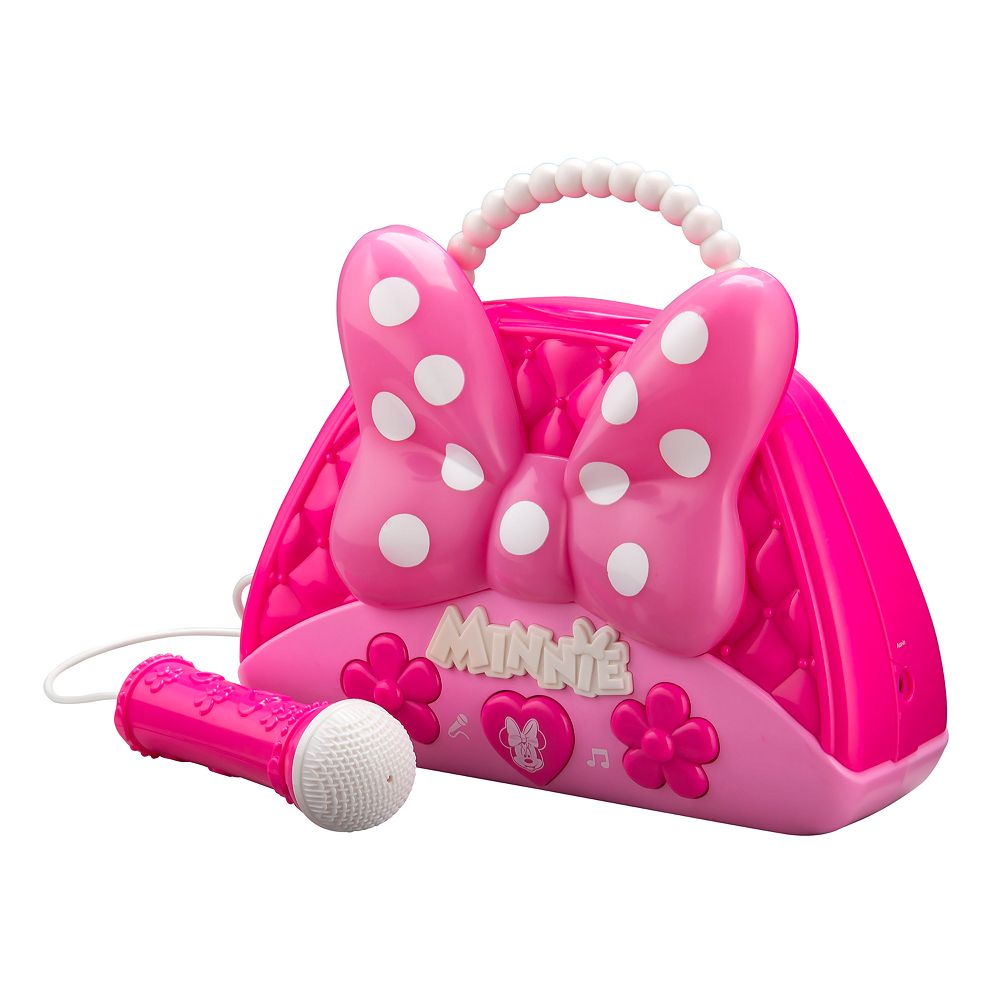 KIDdesigns Minnie Mouse Sing Along Boombox