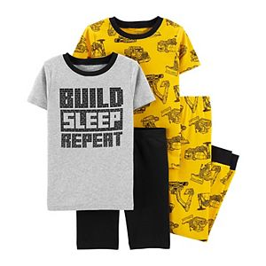 Boys 4-12 Carter's 4-Piece Snug Fit Pajama Set