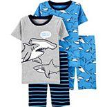 Boys 4-8 Carter's 4-Piece Snug Fit Cotton Pajamas