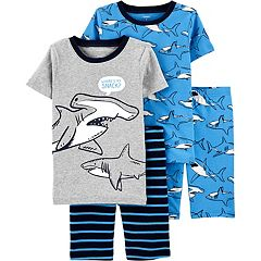 Carter/'s Baby Boy Space Dude Tee Pants Shorts Pajama Set 12 18 24 mths NWT GLOW