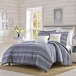 Relax by Tommy Bahama Chambray Stripe Comforter Set