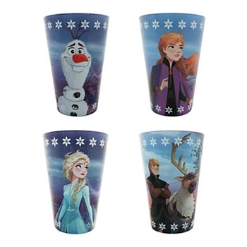 Disneys Frozen 2 4-Piece Juice Cup Set by Jumping Beans