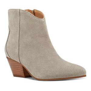 Nine West Tristan Women's Suede Western Ankle Boots